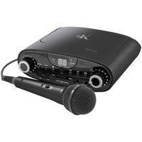 Easy Karaoke EKG88B Bluetooth Karaoke Machine - Black