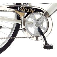 Viking Vitesse Womens Town Bike 19-Inch Frame - White