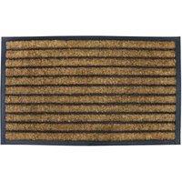 Pride of Place 45 x 75cm Coir Brush Doormat - Natural
