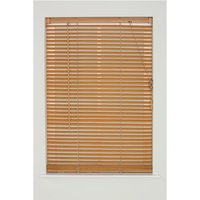Creative Home Interiors Creative Wood-Grain PVC Venetian 45cm Blind - Teak