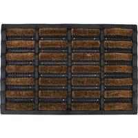 Mud Stopper 40 x 60cm Mudbuster Doormat - Natural