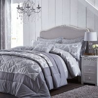 Catherine Lansfield Damask Jacquard Bed Set - Double