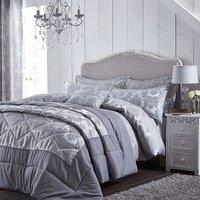 Catherine Lansfield Damask Jacquard Bed Set -Super King