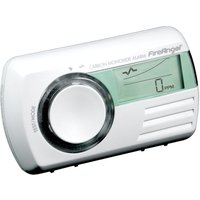 FireAngel Digital Carbon Monoxide Alarm with Thermometer - White