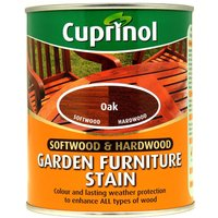 Cuprinol 750ml Garden Furniture Stain - Oak
