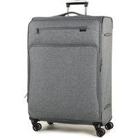 Rock Madison Large Lightweight Expandable 4-Wheel Suitcase - Grey