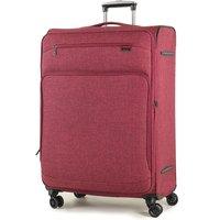 Rock Madison Large Lightweight Expandable 4-Wheel Suitcase - Burgundy