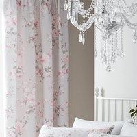 Catherine Lansfield Canterbury Pencil Pleat Curtains - Grey