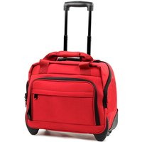 Members by Rock Luggage Essential Laptop Case on Wheels - Red
