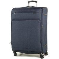 Rock Madison Large Lightweight Expandable 4-Wheel Suitcase - Navy