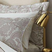 Catherine Lansfield Opulent Jacquard Champagne Pillowsham Pair
