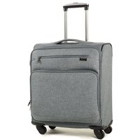 Rock Madison Cabin Lightweight Expandable 4-Wheel Suitcase - Grey