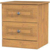 Otega 2-Drawer Bedside Table -Oak