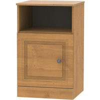 Otega 1-Door Bedside Table - Oak