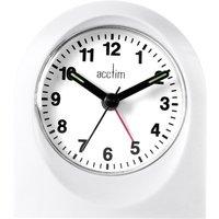 Acctim Palma Alarm Clock - White