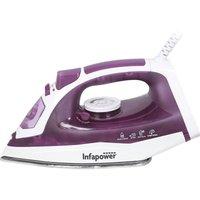Infapower X603 2400W Steam Iron - White & Purple