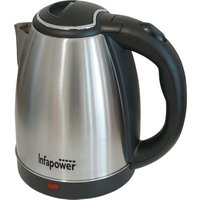 Infapower 1.8L 1800W 360 Degree Cordless Kettle - Silver