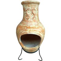 Charles Bentley Large Terracotta Clay Chiminea