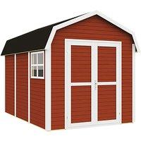 Rowlinson 11 x 8 Dutch Barn - Painted Swedish Red