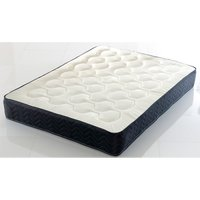 Comfy Deluxe Quilted Memory Orthopaedic Black Mattress Dual Sided - King