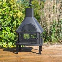 Kingfisher Bonnington Outdoor Log Burner