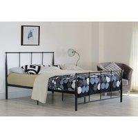 Brava King Bed Frame - Black