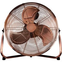 Status 14 Inch High Velocity Floor Fan - Copper