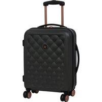 It Luggage Cushion Lux 8-Wheel Single Expander Hard Shell Cabin Case - Dark Grey