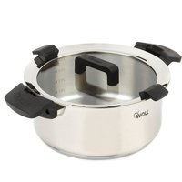 Woll 24 cm Casserole with Glass Lid - 5 Litres