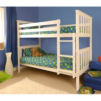 Chelsea Single Bunk Bed - White