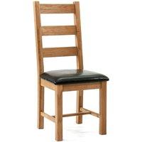 Ametis Devon Oak Richmond Dining Chairs - Pair CHR-01