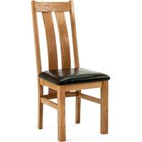 Ametis Devon Oak Arizona Dining Chairs - Pair CHR-08