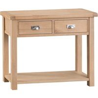 Wisborough Oak Console Table