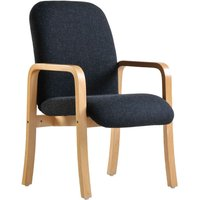 Dams Yealm Double Arm Reception Chair - Charcoal
