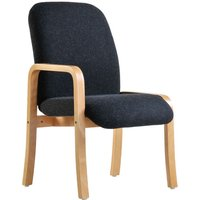 Dams Yealm Right Arm Reception Chair - Charcoal