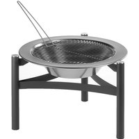 Dancook Fire Pit 9000 - Black/Silver