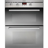 Indesit FIMU23IXS Built-In Double Electric Oven - Stainless Steel