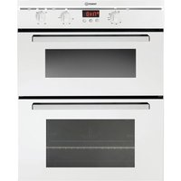 Indesit FIMU23WHS Built-In Double Electric Oven - White