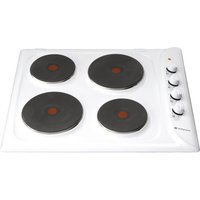 Hotpoint First Edition E604W Electric Hob - White