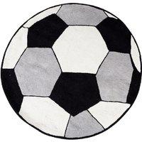 Premier Housewares 100% Cotton Football Rug