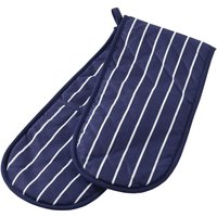 Stow Green Butchers Stripe Double Oven Glove