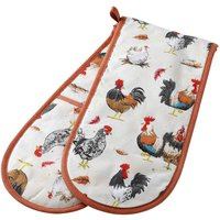 Stow Green Rooster Double Oven Glove