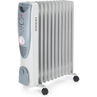 PureMate 2500W Portable Oil Filled Radiator