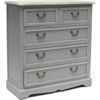 Charles Bentley Loxley Vintage Chest of Drawers - Grey