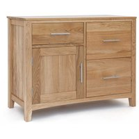 Ametis Hereford Oak Double Unit with Cupboard