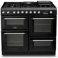 Hotpoint Cannon CH10456GFS Dual Fuel Range Cooker - Black