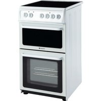 Hotpoint HAE51PS Electric Cooker - White