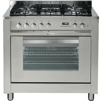 Hotpoint Ultima EG900XS Dual Fuel Cooker - Stainless Steel