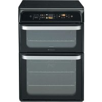 Hotpoint Ultima HUI62TK Electric Cooker - Black