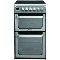 Hotpoint Ultima HUE52GS Electric Cooker - Graphite